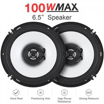 2pcs-6-5-inch-100w-car-coaxial-speaker-universal-high-mid-bass-ultra-thin-modified-speaker-non-destructive-installation