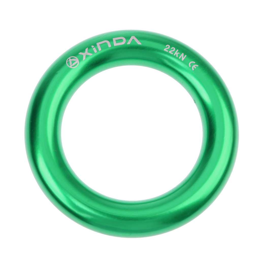 Rappel Ring, Large 22kN Rappel Hammock Ring Connection Connector For Rock Tree Climbing Rescue Equipment