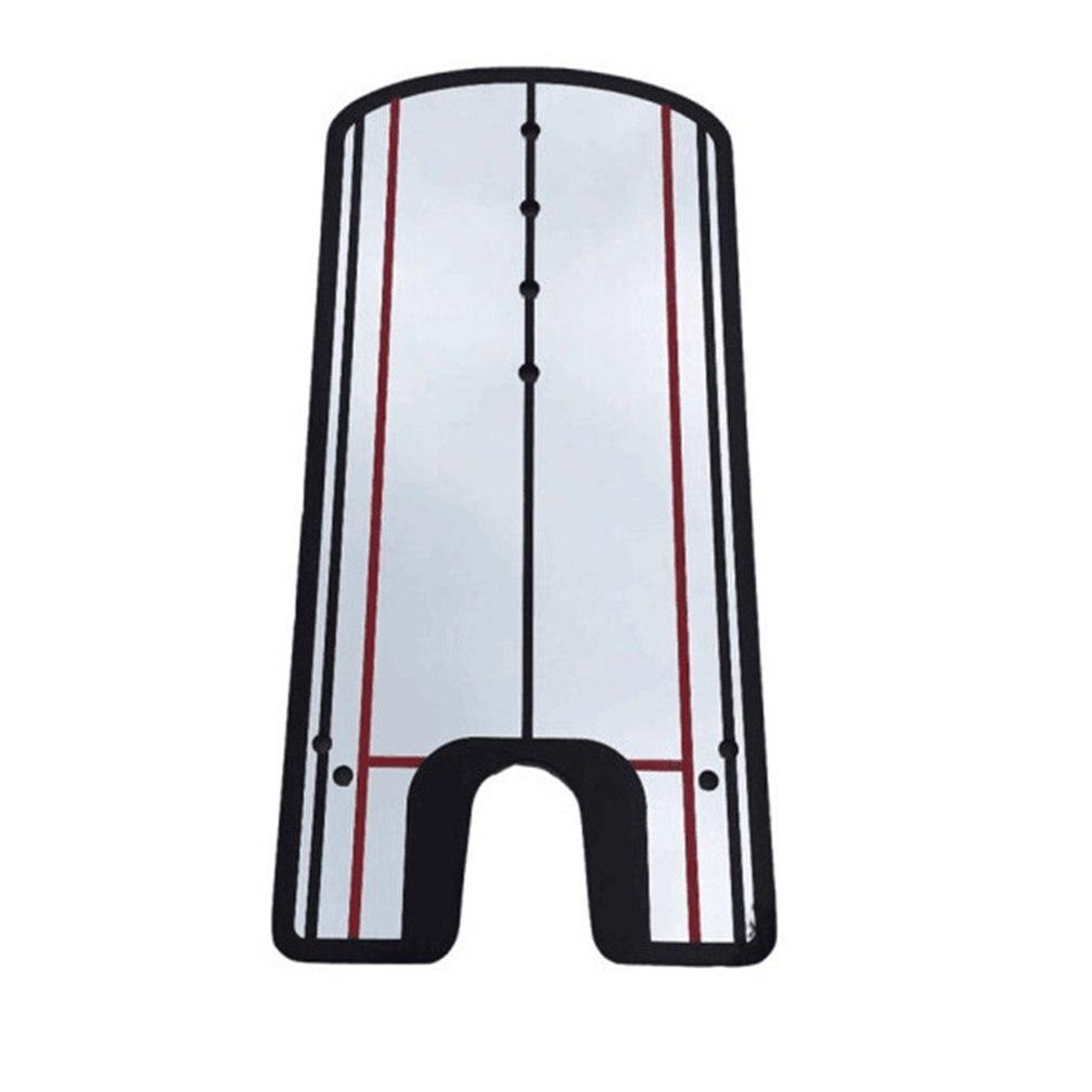Golf Putting Practice Mirror Putting Mirror Alignment Training Aid Golf Practice Putter Mirror Eye Line
