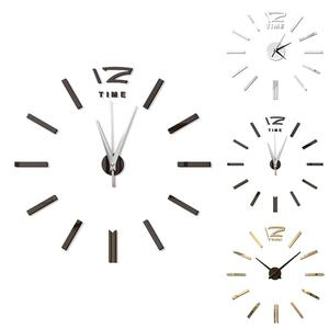 Image 5 - Modern Design Mini DIY Large Wall Clock Sticker Mute Digital 3D Wall Big Clock Living Room Home Office Decor Christmas Gift