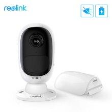Reolink Argus 2 Full Hd 1080P Outdoor Indoor Beveiliging Ip Camera Oplaadbare Batterij Aangedreven Sterrenlicht Sensor Wifi Camera