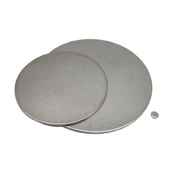 5pcs stainless steel circular plate disc ss304 flat-plate round corrosion resistant disk sheet laser cutting