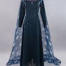 New Sale Elsa Princess Dress Winter Snow Suit Women