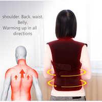 Turmalin Weste Selbst-heizung Brace Unterstützung Gürtel Haltung Corrector Wirbelsäule Zurück Schulter Lenden Schmerzen Relief Männer Und Frauen Sitzen
