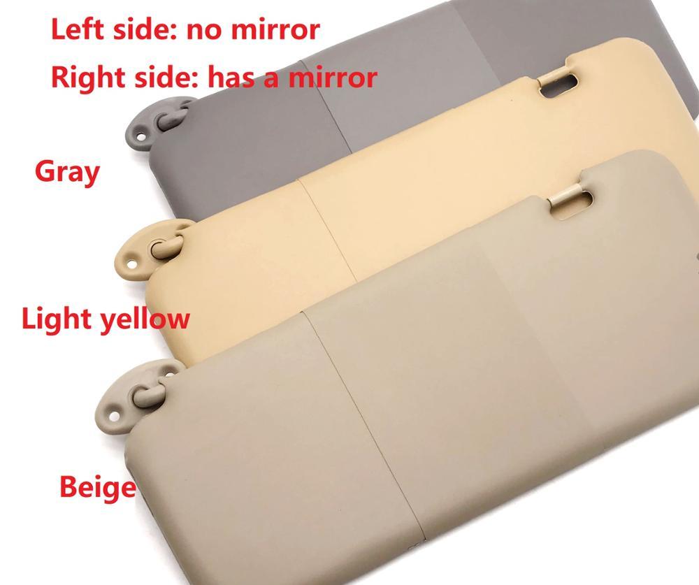 3 colors Sun visor assy. with mirror for Chinese CHERY TIGGO SUV 2005-2012 Auto car motor parts T11-8204020(China)