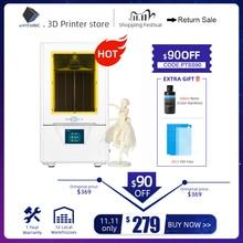 Impresora ANYCUBIC 3d Foton S SLA 3d impresora 2K pantalla 405nm impresora UV luz LCD sombra enmascaradora impresora 3D kit de b