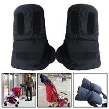 Перчатки для детской коляски зимние теплые варежки тележки коляски перчатки для мам детские коляски перчатки аксессуары