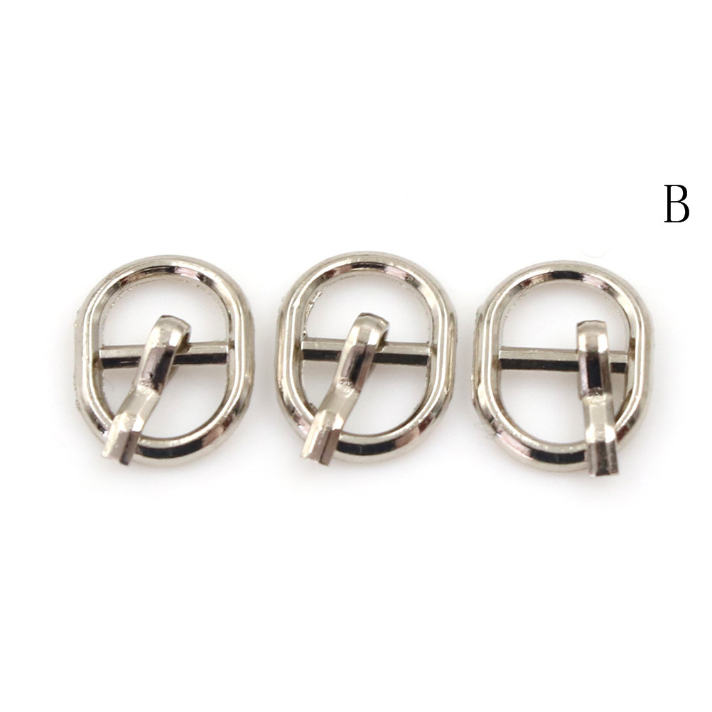 3/10PCS 4.5mm Mini Buckle DIY Patchwork Buckle For Dolls Clothing Adjustable Accessories Handmade Sewing 19
