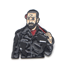 The Walking Dead Negan fashion cute cartoon Zinc alloy tie pins badges para shirt bag clothes cap backpack shoes brooches E0374