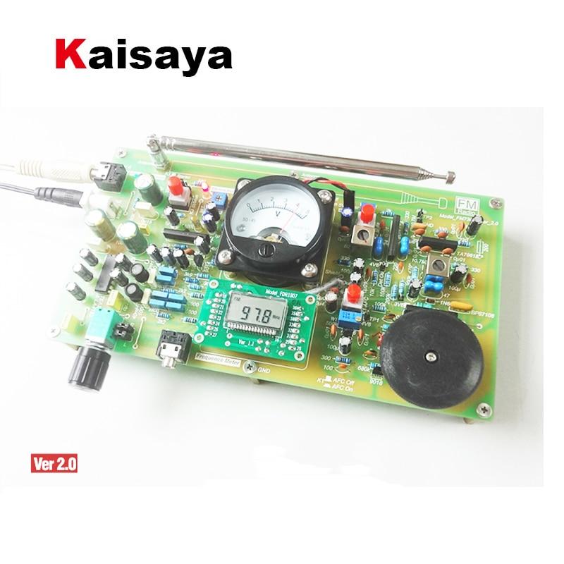 FM7303 Radio carte numérique Modulation de fréquence Radio carte stéréo décodage bricolage FM Radio T0257