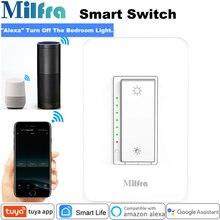 Milfra переключатель с затемнением нейтральный провод требуется