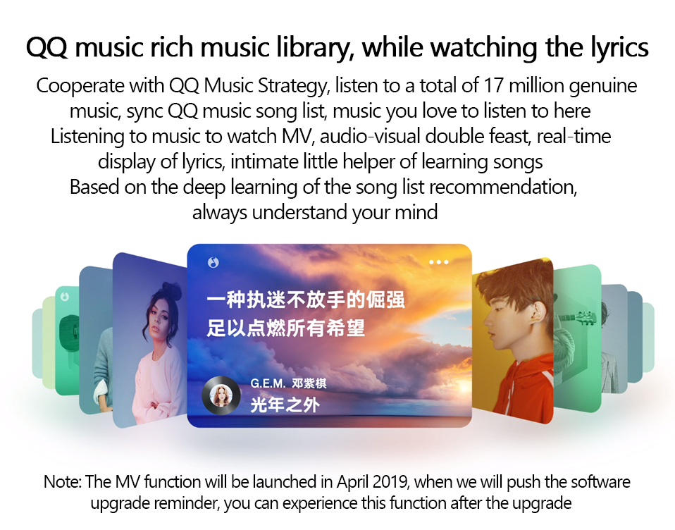 Xiaomi Ai Touch Screen Speaker with Alarm Clock 4