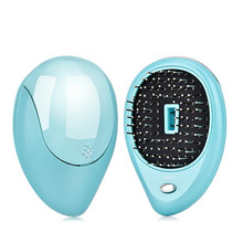 Hair Comb Brush Electric Ionic Hairbrush Portable Ionic Negative Ions Massage Combs Softener Hair Styling Tool Magic Hairbrush portable electric ionic hairbrush takeout mini hair brush comb massager small