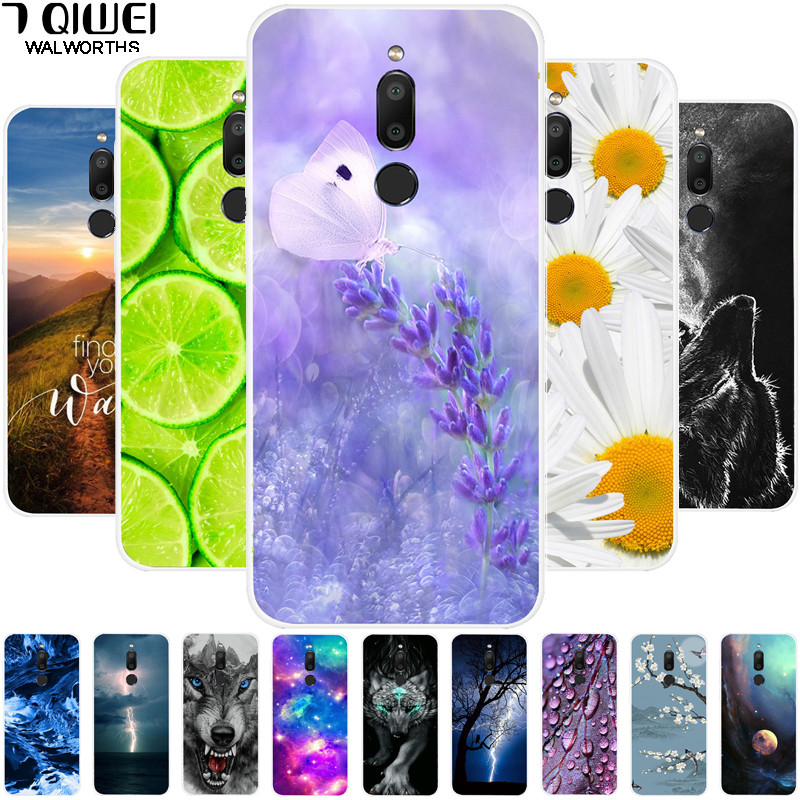 For <font><b>Meizu</b></font> <font><b>M6T</b></font> Case Phone Cover Silicone Soft TPU Case For <font><b>Meizu</b></font> <font><b>M6T</b></font> Case Protective Cover M6 T M 6T <font><b>M811H</b></font> 5.7'' Coque Space image