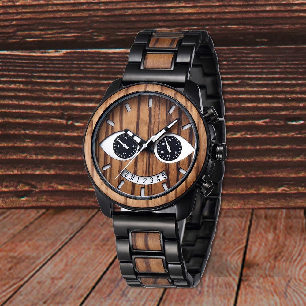 Shifenmei Watch Men Wooden Watches Fashion Luxury Bracelet Outdoor Automatic Quartz Digital Watches Man Gift Relogio Masculino