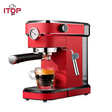 Itop 15 бар полуавтоматическая кофемашина с манометром Бытовая