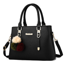 2019 New Style Messenger Bag Middle-aged Mother Bag Large Capacity Atmosphere Shoulder Bag Fashion Big Bag new casual fashion loading and unloading handle women leather handbags atmosphere wild shoulder slung middle aged mother bag
