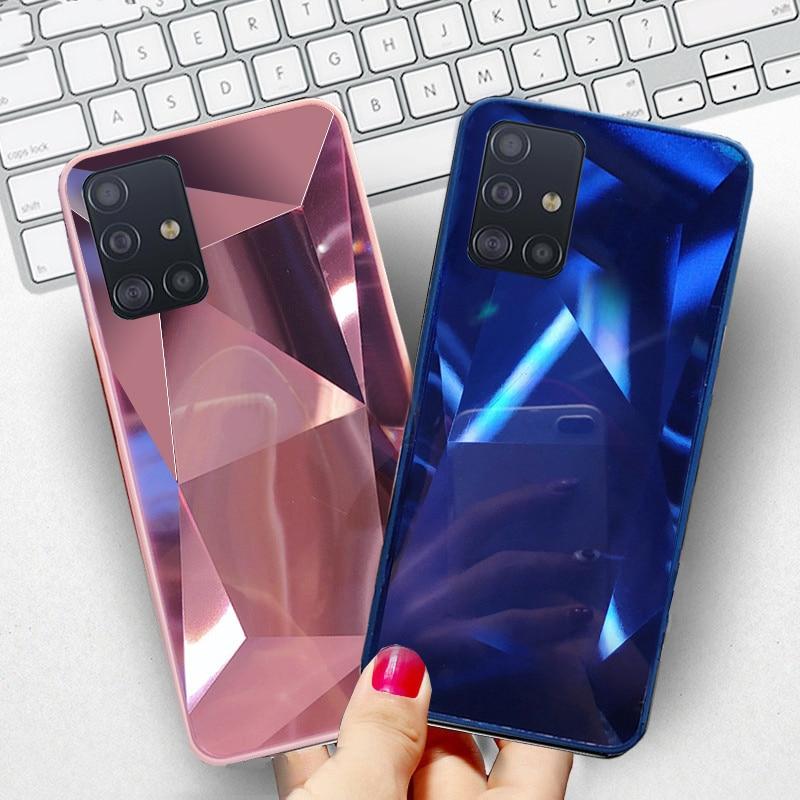 Mirror Cover Case For Samsung Galaxy S7 Edge S8 S9 S10 S20 Plus Ultra S10e A9 A7 2018 A10 A20 A30 A40 A50 A60 A70 A51 A71 A30S