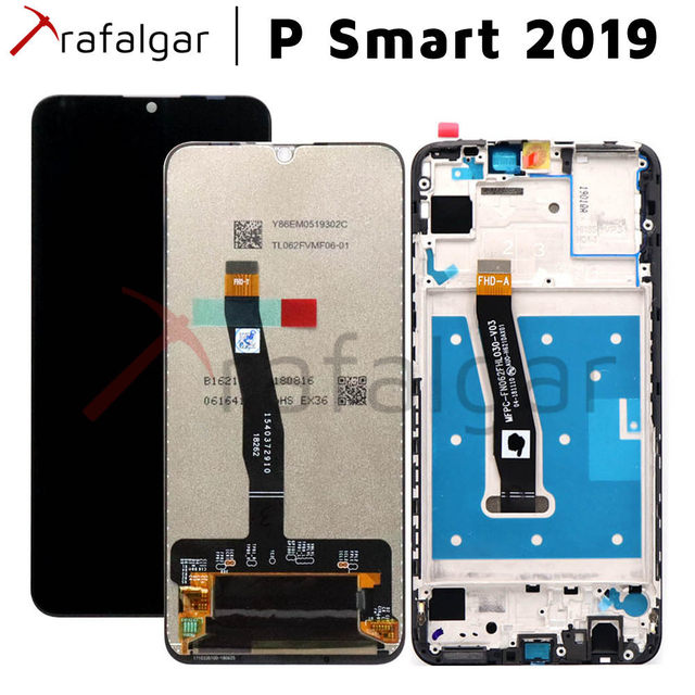 Original LCD pour Huawei P Smart 2019 écran tactile avec cadre P Smart 2019 LCD écran POT LX1 LX1AF LX2J LX1RUA LX3