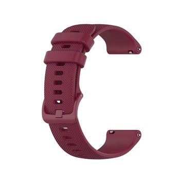 18 20 22mm Sport Silicone Wrist Strap For Garmin Vivoactive 4S 4 3 Smart Watch Band For Vivoactive 3 4 4S Wristband Accessories 8
