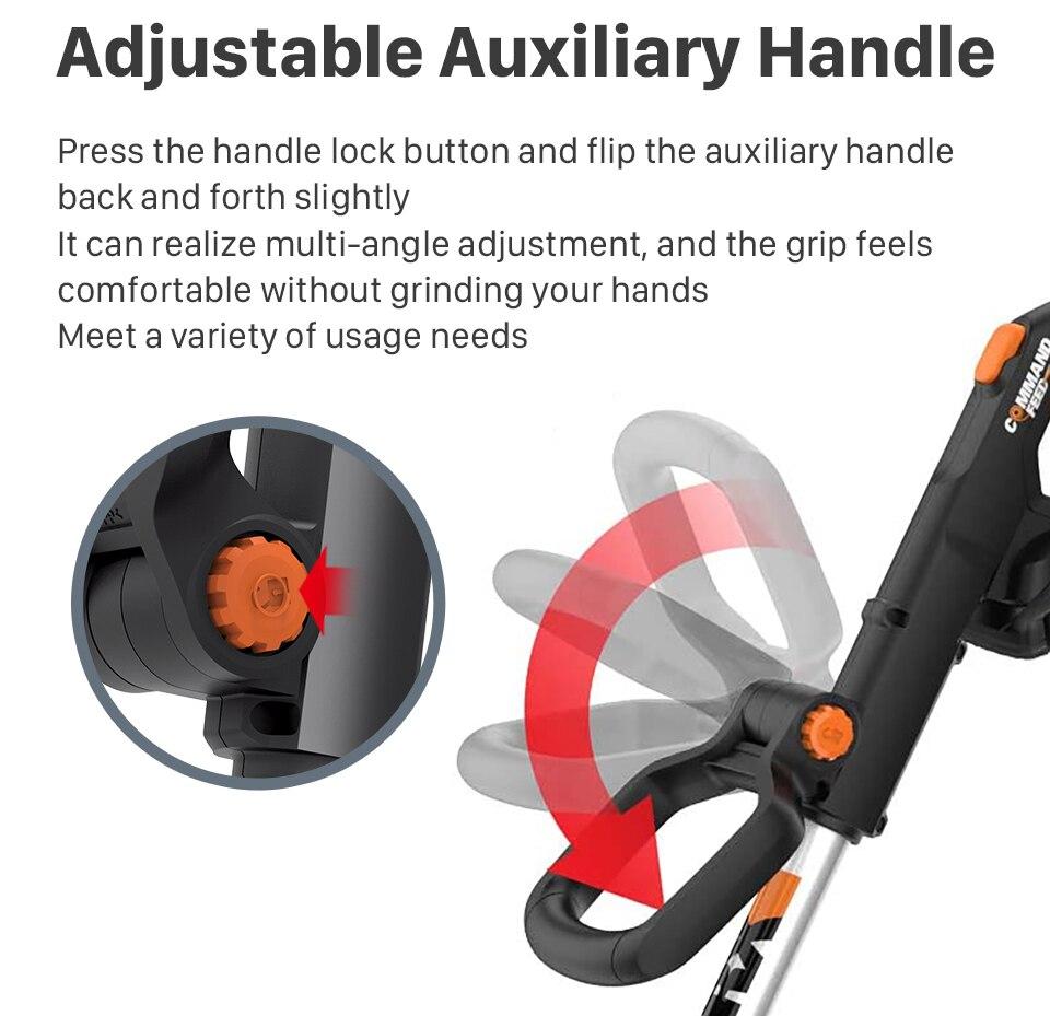 WORX Adjustable Auxiliary Handle