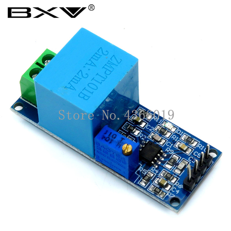 Active Single Phase Voltage Transformer Module AC Output Voltage Sensor For Arduino Mega ZMPT101B 2mA