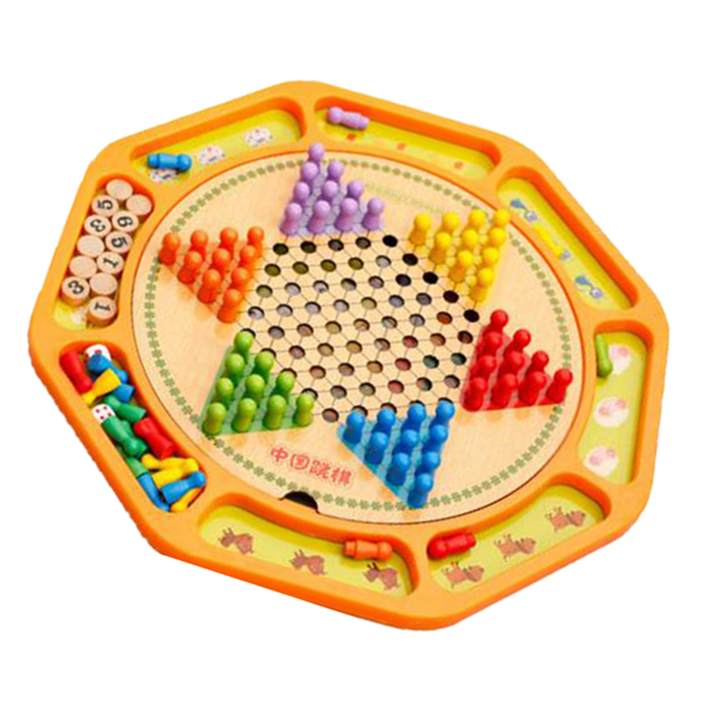 Multifunctional Chinese Checkers 12 Wooden Chessboard Flying Chess Board Games For Kids Adults Playing Board Games Aliexpress,What Is Whey Protein Made Of