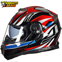 Helmet Motorcycle Dual Lens Motocross Moto Helmet Full Face Helmets Flip Up Casco Moto Capacete Casque Black Cascos Para Moto