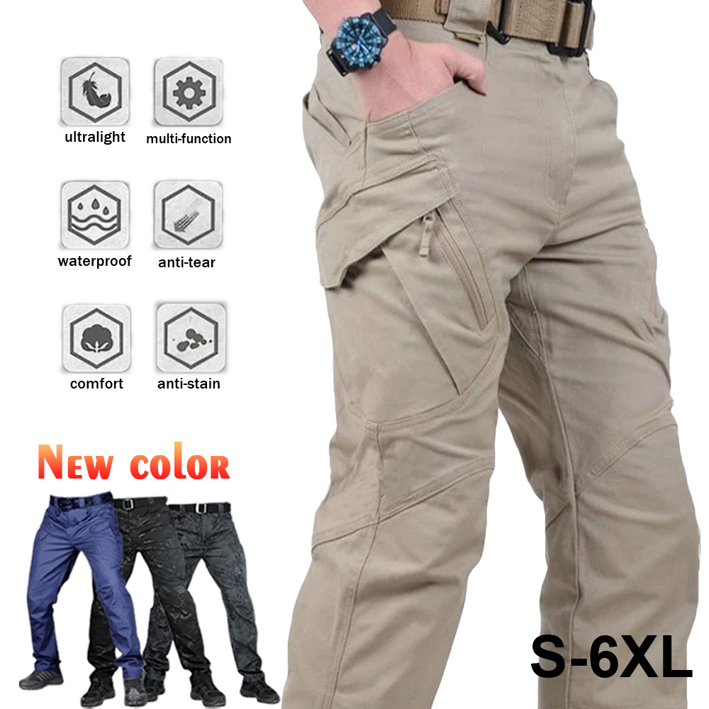 Camo Army Tactical Joggers Pant Camouflage Military Multi Pocket Trousers 1