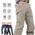 Городские тактические брюки-карго, классические уличные походные треккинговые армейские тактические джоггеры, камуфляжные военные брюки ...