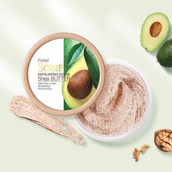Shea Butter Body Scrub Hydrating Exfoliating Scrub Lotion Deep Cleansing Cutin Refine Pores Scrub Remove Dead Skin 100g 1