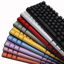 Механическая клавиатура колпачки для клавиш OEM профиль ABS прозрачный двойной Shot инъекция 104 клавиш для GK61 Anne Pro 2