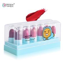 HengFang 12Colors/Set Mini Cute Matte Lipstick Waterproof Long lasting Lip stick