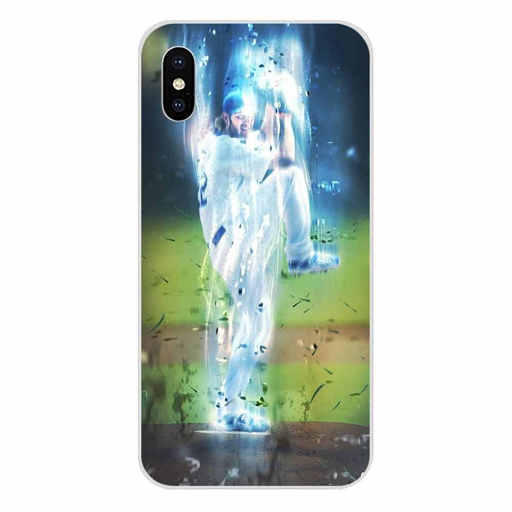 แนวตั้งเคสโทรศัพท์ Clayton Kershaw เบสบอลเดิมสำหรับ LG K50 Q6 Q7 Q8 Q60 X Power 2 3 Nexus 5 5X V10 V20 V30 V40 Q Stylus
