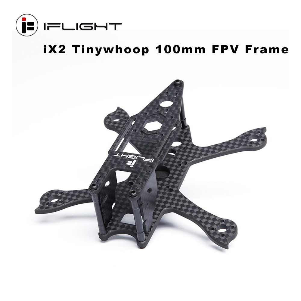 iFlight iX2 Tinywhoop <font><b>100mm</b></font> Wheelbase <font><b>Frame</b></font> Kit 19.6g for RC <font><b>Drone</b></font> Quadcopter Models Spare Part DIY Accessories image