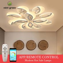 AC90-260 Nordic Ceiling lights Novelty post-modern For living room Fixtures bedroom aisle LED ceiling lamp Ceiling lighting cheap Fantasy Island 20 10-15square meters Kitchen Dining room Bed Room Foyer Study 90-260V Aluminum Ironware + Acrylic Remote Control