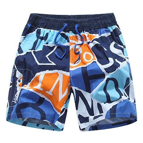 Verão dos Homens Bermudas de Natação para o Sexo Atlético dos Homens Calções de Ginásio Secagem Rápida Praia Troncos Board Shorts Surf Siwmwear Impressão Masculino