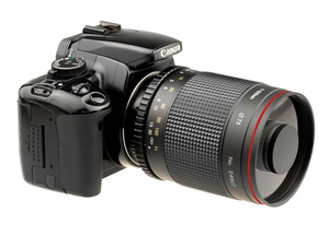 Image 5 - 500mm f/8.0 מצלמה טלה ידני מראה עדשה + T2 הר מתאם טבעת עבור Canon Nikon Pentax אולימפוס sony A6300 A7RII DSLR