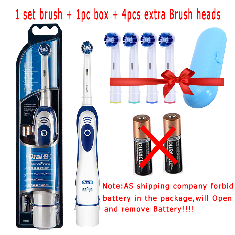 Oral B Sonic Electric Toothbrush DB4010 Rotating Electronic Germany Oral Hygiene Dental Teeth Brush Head Remove Battery 2
