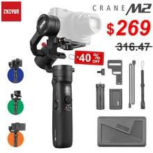 ZHIYUN Crane M2 3 Axis Handheld Gimbals Stabilizer for Smartphones Compact Mirrorless Cameras & Action Cameras Maxload 500g