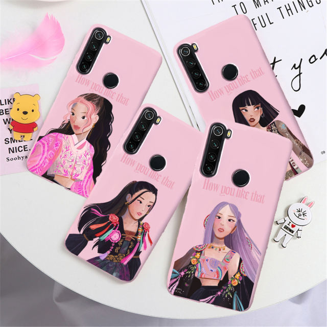 BLACKPINK THEMED XIAOMI PHONE CASE (8 VARIAN)