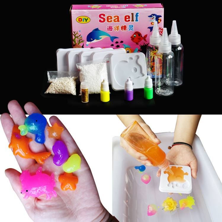 Magic Water Baby Magic Water Elf Toy Marine Soft DIY Handmade Children Toys Diy Toys Have A Good Quality And Free Shipping