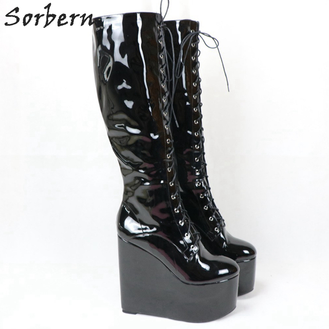 Sorbern Custom Wide Calf Boots Women