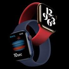 Solo Boucle sangle pour apple bracelet de montre 44mm 40mm je bracelet de montre 42mm 38mm apple watch 6/5/4/3/2/1 44mm silicone bracelet accessoires