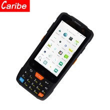 CARIBE 4 inch Touch Screen Handheld GSM Fixed Wireless Terminal 1D 2D Barcode Scanner