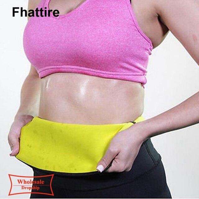 Plus Size Fitness Women Slimming Waist Belts Neoprene Body Shaper Training Corsets Cincher Trainer Promote Sweat Bodysuit 5