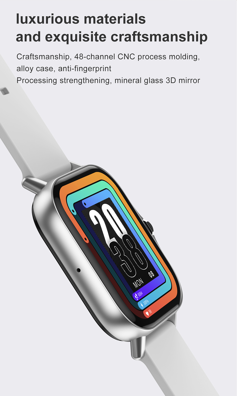 H36dbaabc388044988cd27229bea1ba26Z For Xiaomi IOS Apple Phone 1.78inch Smart Watch Android Men IP68 Waterproof Full Touch Woman Smartwatch Women 2021 Answer Call