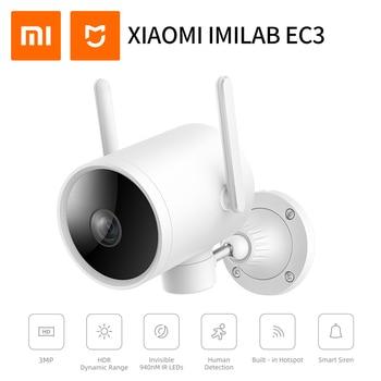 Versión Global IMILAB EC3 Cámara al aire libre Ip Cámara Wifi Mi cámara de seguridad del hogar 2K visión nocturna Cctv cámara de vigilancia