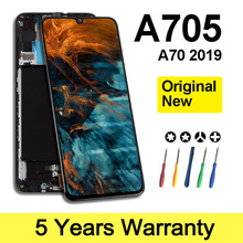 Wholesale Business Original Lcd For Samsung A70 2019 Display With Frame Screen For Samsung A705Fn Lcd Sm-A705F Replacement