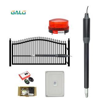 200kgs Automatic Single Swing Automatic Gate Opener Kit Suitable for Opening Gates /Gate Motor Solar Powered Optional фото
